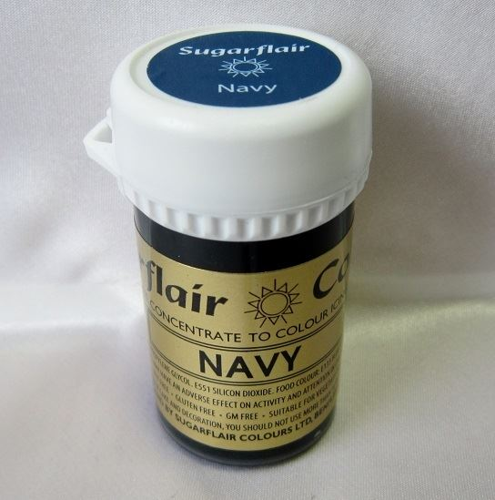 Navy Paste Colour 25g