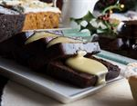 Christmas Pudding Log