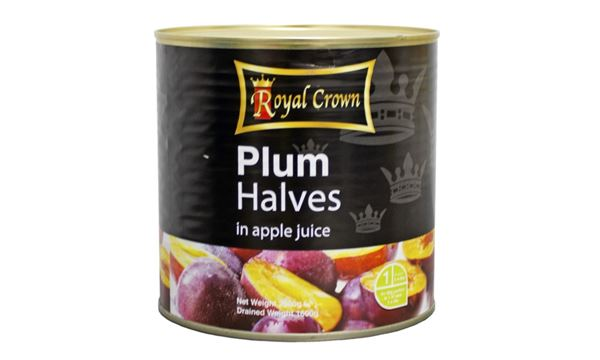 Plum Halves In Juice