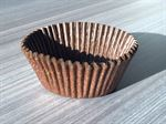 Brown Glass Cupcake Case